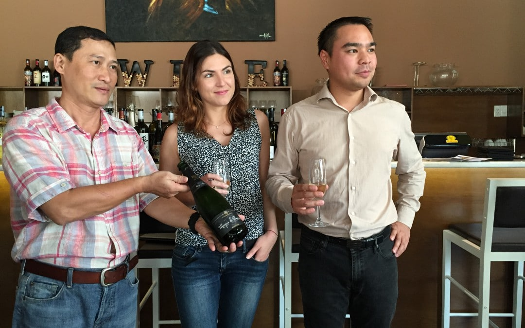 Wine Tasting with Dennis Tran