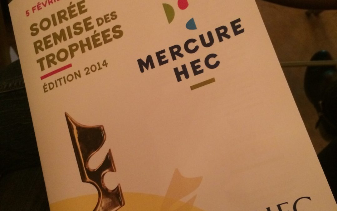 Premier exercice de Pitch lors du Mercure HEC Paris