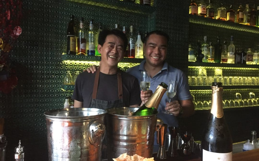 Association Champagne & Mets du Chef Peter Cuong Franklin